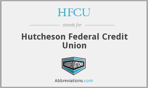 HFCU - Hutcheson Federal Credit Union