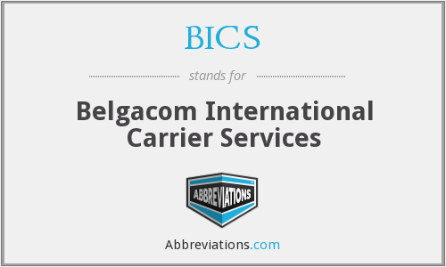 BICS - Belgacom International Carrier Services