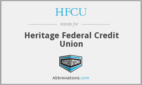 HFCU - Heritage Federal Credit Union