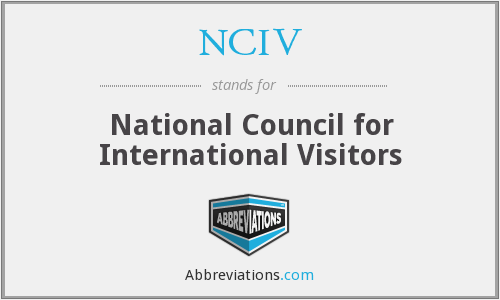What does NCIV stand for?