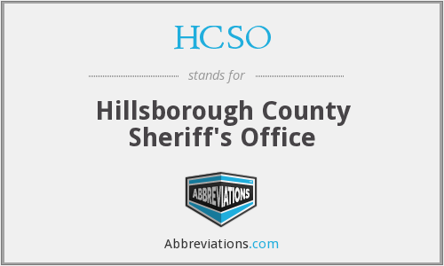 What does HCSO stand for?