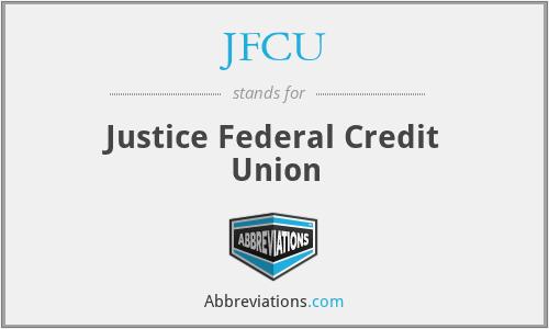 JFCU - Justice Federal Credit Union