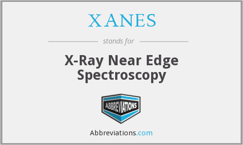 XANES - X-Ray Near Edge Spectroscopy