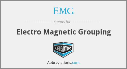 EMG - Electro Magnetic Grouping