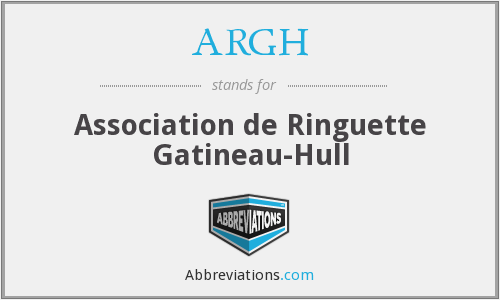 ARGH - Association de Ringuette Gatineau-Hull