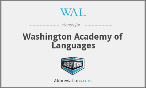 WAL - Washington Academy of Languages