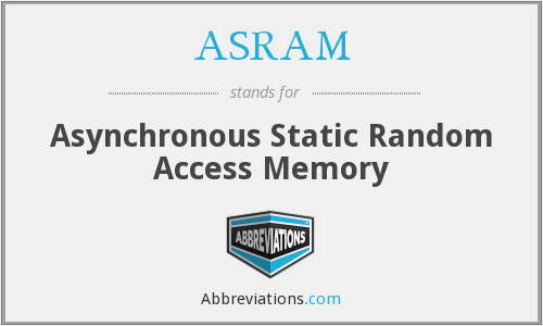 What does ASRAM stand for?