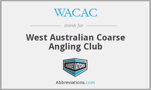 WACAC - West Australian Coarse Angling Club