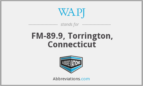 WAPJ - FM-89.9, Torrington, Connecticut