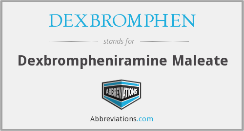What does DEXBROMPHEN stand for?