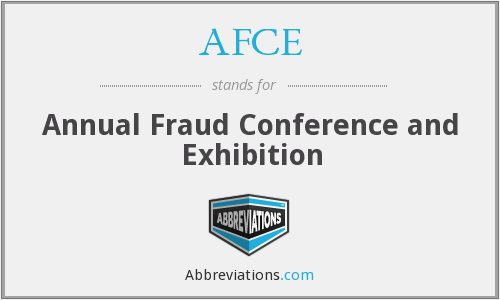 What does AFCE stand for?