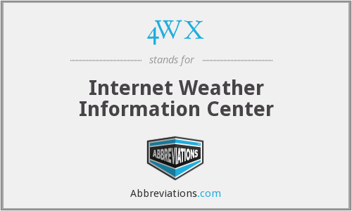 4WX - Internet Weather Information Center
