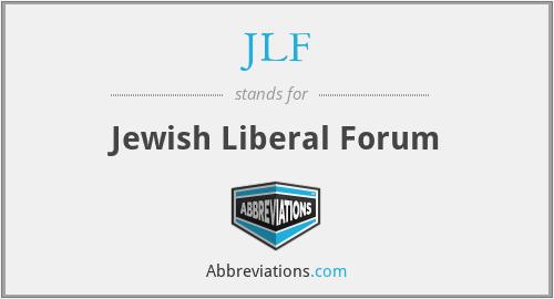 JLF - Jewish Liberal Forum
