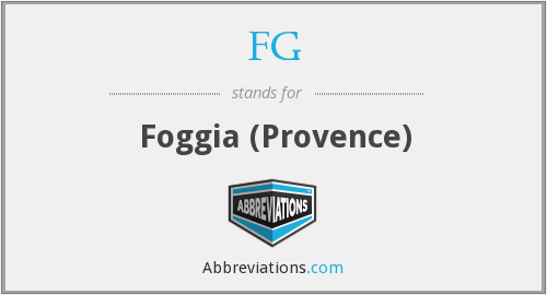 FG - Foggia (Provence)