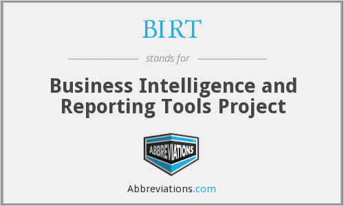 BIRT - Business Intelligence and Reporting Tools Project