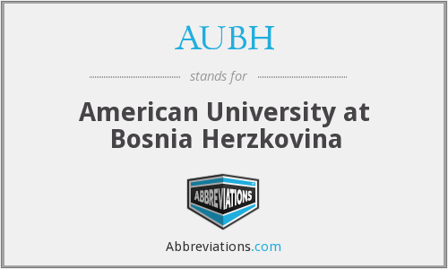 What does AUBH stand for?