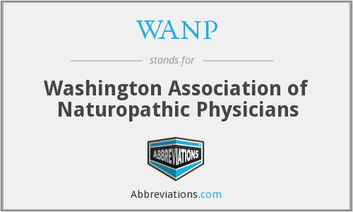 WANP - Washington Association of Naturopathic Physicians
