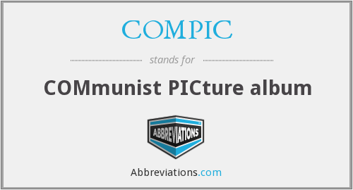 COMPIC - COMmunist PICture album