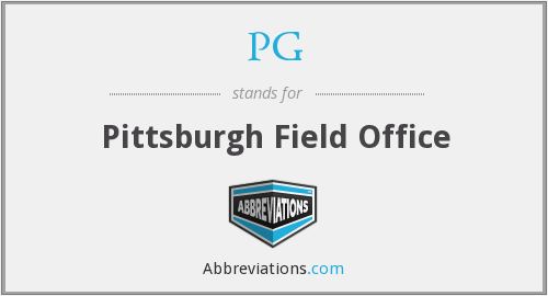 PG - Pittsburgh Field Office