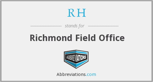 What does RH stand for?