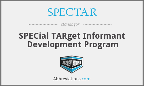 SPECTAR - SPECial TARget Informant Development Program