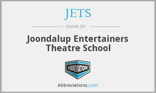 JETS - Joondalup Entertainers Theatre School