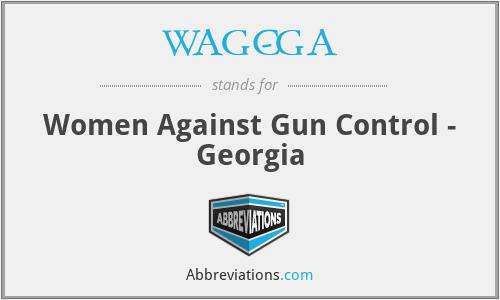 WAGC-GA - Women Against Gun Control - Georgia