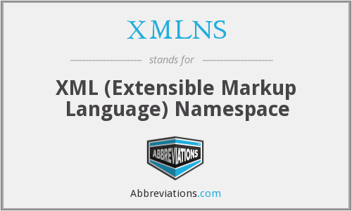 What does XMLNS stand for?