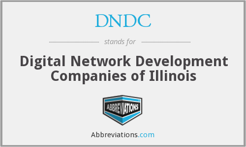 DNDC - Digital Network Development Companies of Illinois