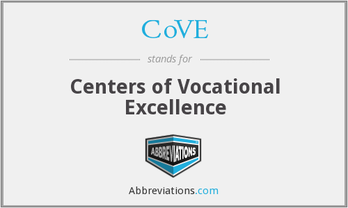 CoVE - Centers of Vocational Excellence