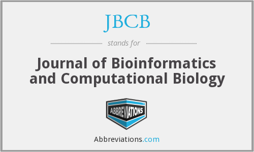 JBCB - Journal of Bioinformatics and Computational Biology