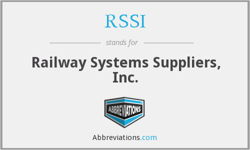 RSSI - Railway Systems Suppliers, Inc.