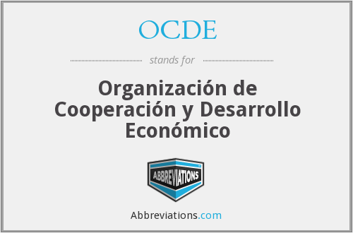 What does OCDE stand for?