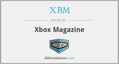 XBM - Xbox Magazine