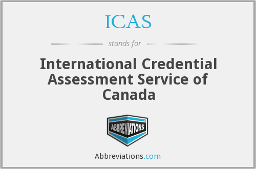 ICAS - International Credential Assessment Service of Canada