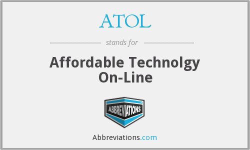 ATOL - Affordable Technolgy On-Line