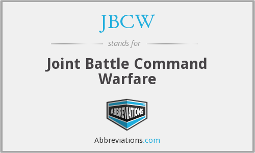 JBCW - Joint Battle Command Warfare