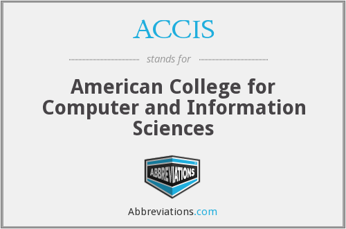 ACCIS - American College for Computer and Information Sciences