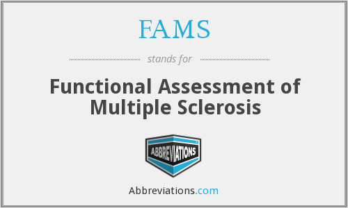 FAMS - Functional Assessment of Multiple Sclerosis