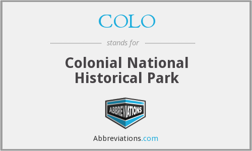 COLO - Colonial National Historical Park
