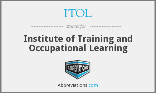 ITOL - Institute of Training and Occupational Learning