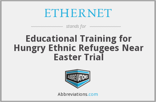 ETHERNET - Educational Training for Hungry Ethnic Refugees Near Easter Trial