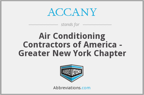 What does ACCANY stand for?