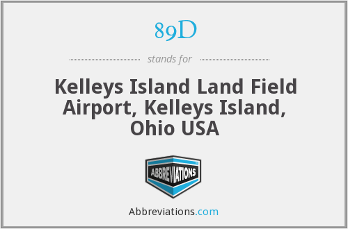 89D - Kelleys Island Land Field Airport, Kelleys Island, Ohio USA