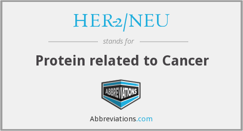 What does HER-2/NEU stand for?