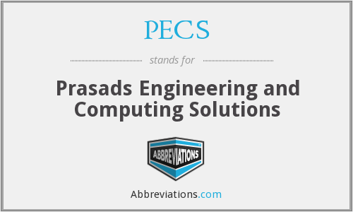 PECS - Prasads Engineering and Computing Solutions