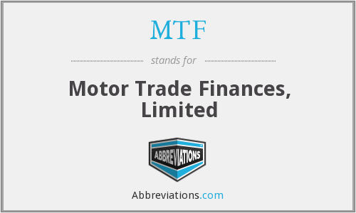 MTF - Motor Trade Finances, Limited