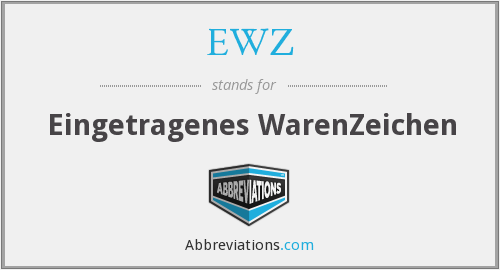What does EWZ stand for?