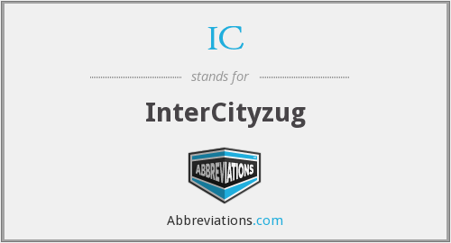 IC - InterCityzug