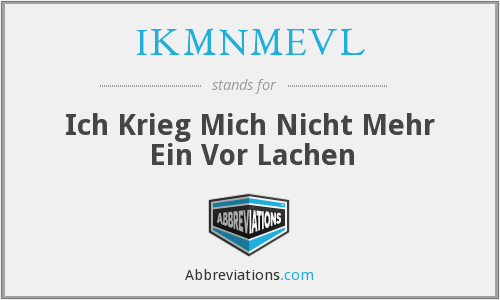 What does IKMNMEVL stand for?